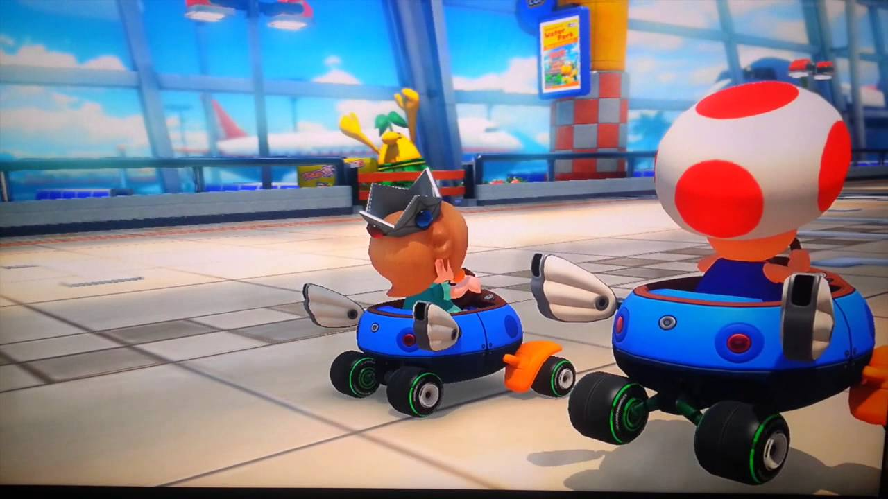 Mario Kart 8: Baby Rosalina Falls in Love with Toad ...