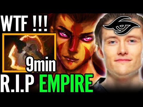9Min BF Really Bro?? ACE Carry of Team Secret 7.07 Dota 2 Pro GAmeplay