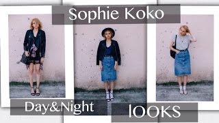 Sophie Koko - day and night LOOKBOOK | наряды дня и вечера, лукбук