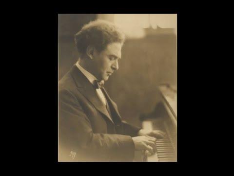 Harold Bauer plays Chopin Scherzo no. 3, op. 39 - live 1936
