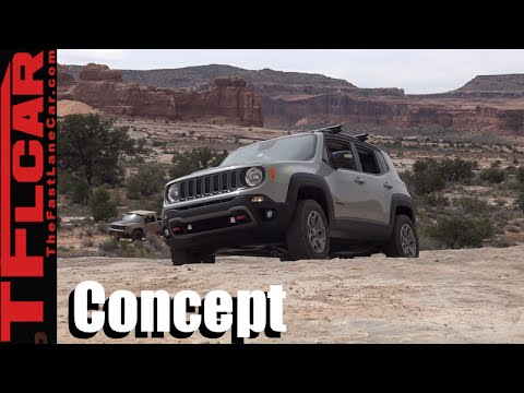 We Drive the Jeep Renegade Commander Concept Off-Road!