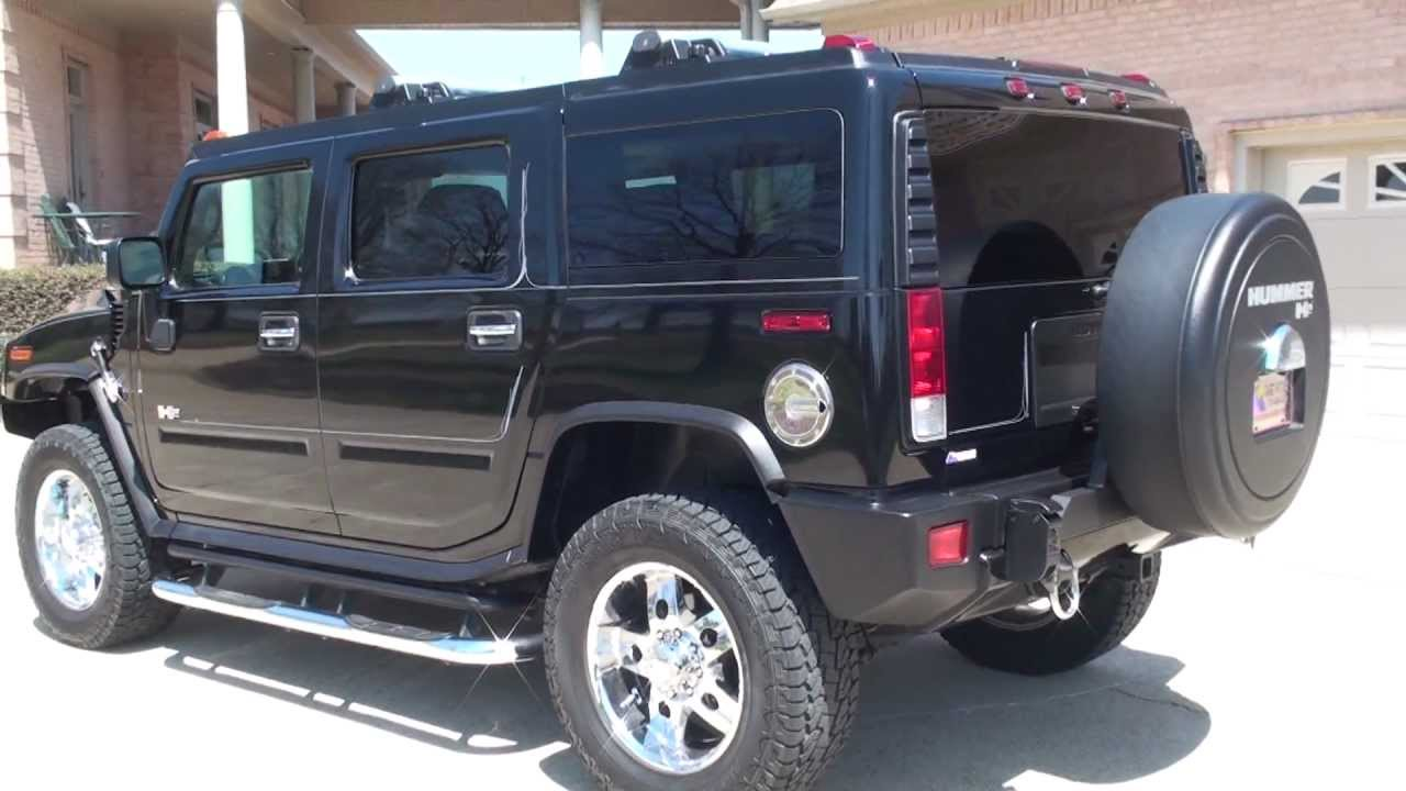 Hd Video 2006 Hummer H2 Black Navigation Low Miles Used