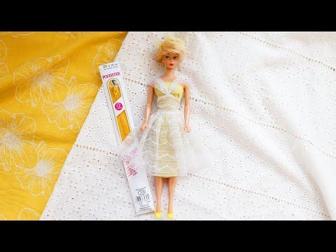 Making a LIFE SIZE Barbie Dress : Orange Blossom Barbie