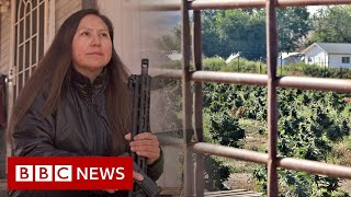 Cannabis boom and bust on Native American land - BBC News