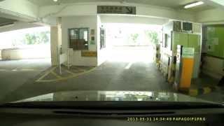 漁灣邨停車場 -- 離場