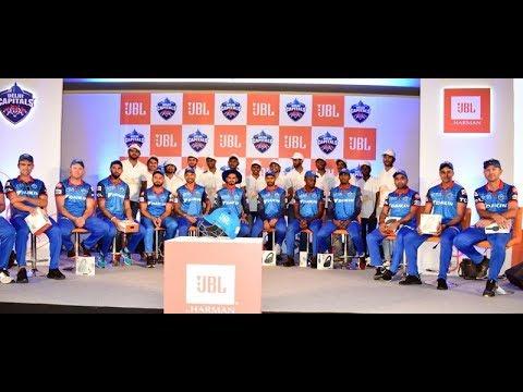 Shikhar Dhawan,Rishabh Pant, Shreyas Iyer with Delhi Capitals Full Squad At JBL Event in New Delhi