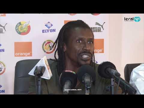 """Aliou Cissé Répond à Diafra Et Kara Mbodj :"""" Il N'y A Pas De Matricule Et De Place Indiscutable"""""""