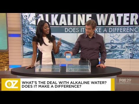 Dr. Jen Reveals The Truth About Alkaline Water On The Dr Oz Show