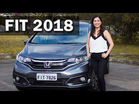 Novo Honda Fit 2018 EXL em Detalhes