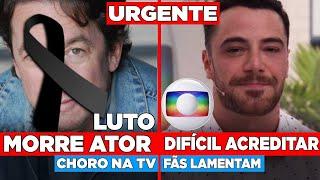 Querido e famoso ator se vai, triste comunicado... Ator da globo Felipe Titto entristece os fãs após