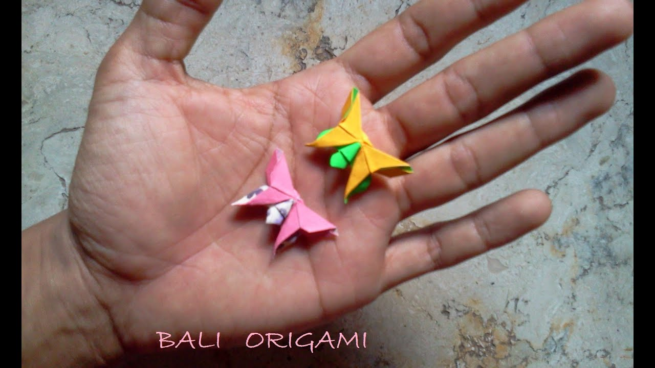 How to make Origami Butterfly ( Michael G Lafosse ) - YouTube - photo#17