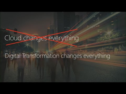 Datacenter transformation – a roadmap for platforms, processes, and people - BRK3378