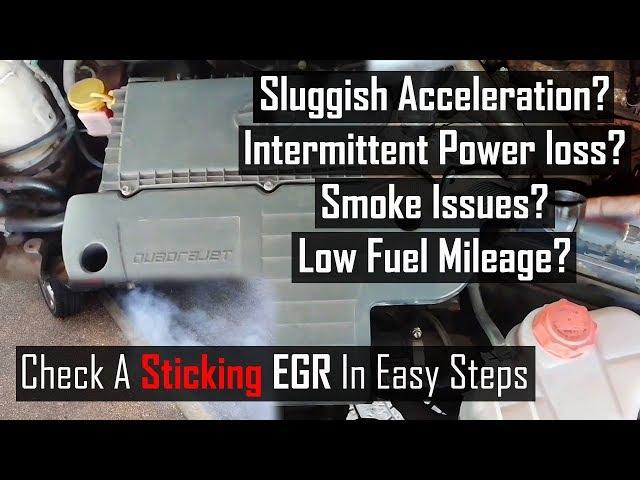 how to clean egr on diesel engine