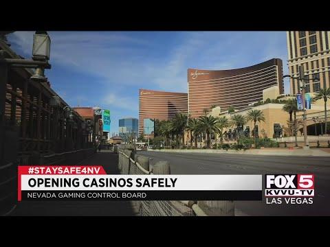 Nevada Gaming Control Board talks smoking, masks in casinos upon reopening