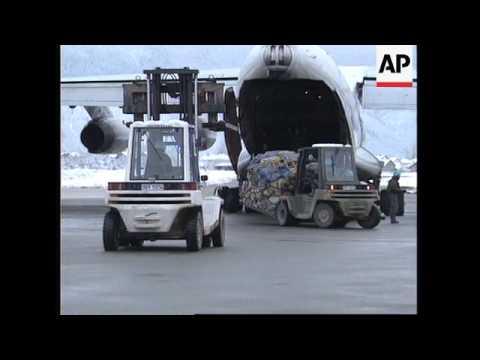 BOSNIA: SARAJEVO AIRPORT REOPENS