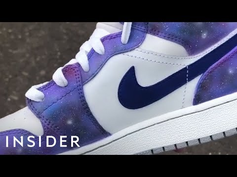 Artist Turns Popular Sneakers Into One-Of-A-Kind Kicks