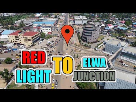 Red Light to ELWA Junction Road Project 2021 Liberia Drone shot #Liberia #Hardingworld