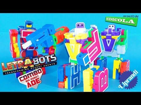 CICABOOM - LETRABOTS COMBO BIG ROBOT ADE - UN SALTO IN EDICOLA