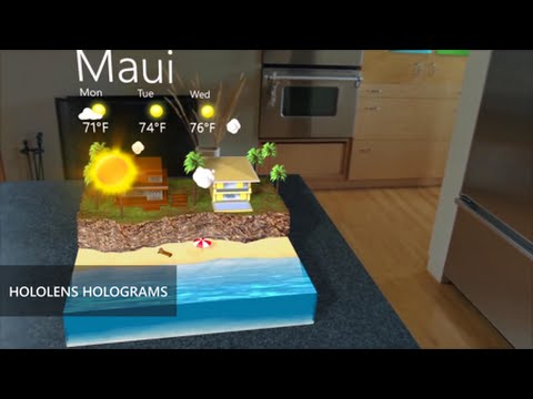 Microsoft HoloLens: What is a hologram?