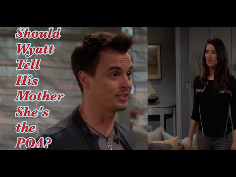 The Bold and the Beautiful /Poll/ Should Wyatt tell his Mother she's the POA?