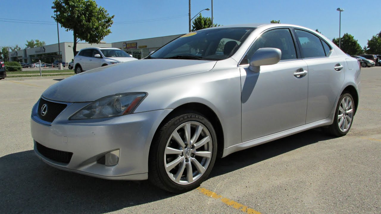 2007 Lexus IS250 AWD Start up Walkaround and Vehicle Tour