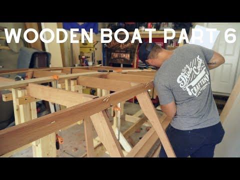 Wooden Boat Build // Part 6 Stem & Chine Logs