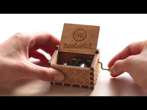 Lord of the Rings Music Box  | Hand Crafted Music Chest