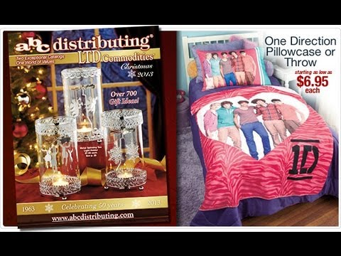 abc distributing catalog christmas 2013 one direction