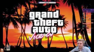 Grand Theft Auto: Vice City - Немного ностальгии в ГТАшке на Сабдей.