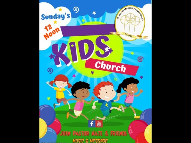 Mt Moriah Children's Church - 040421