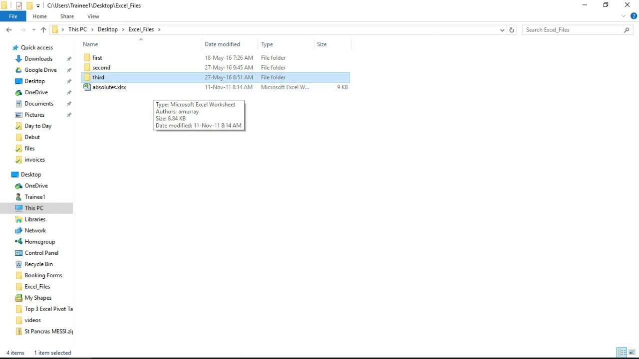 Loop Through Subfolders of a Folder using Excel VBA