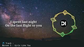 Nightcore - Girls Like you (Lyrics)