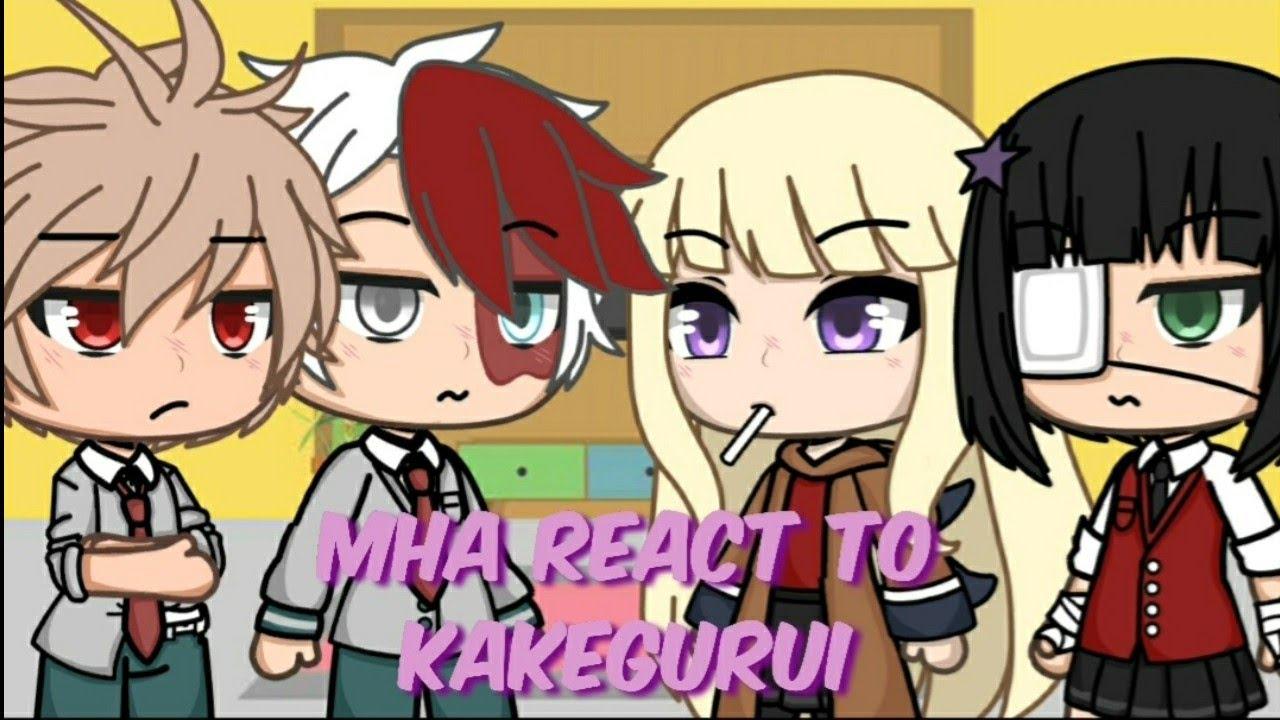 Download Mha react to Kakegurui || 2/3 || Midari & Runa ||