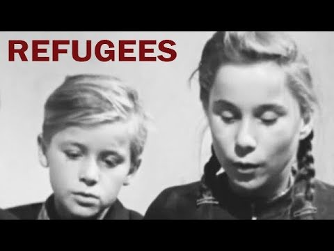 Life in the Refugee Camps of West Berlin | Cold War Era Documentary | 1953