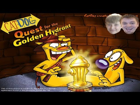 CATDOG Video Game – Quest for the Golden Hydrant – Full Game Walkthrough w/ Commentary (PC Longplay)