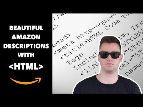 HTML Amazon Description - Make A Beautiful Amazon Product Description
