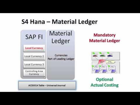 S4 Hana   Simplificaiton Material Ledger