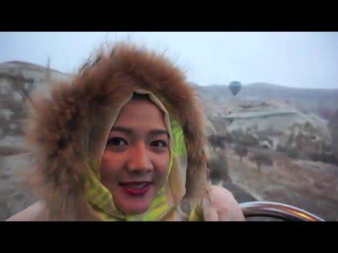 I & I winter honeymoon in Turkey 2015