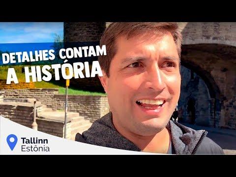 Os Detalhes Contam a História em Tallinn na Estônia