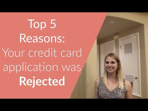 Why Was My Credit Card Application Denied How To Go From Denial To Approval