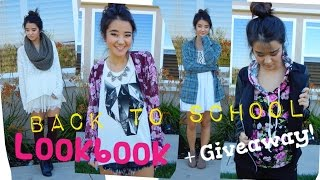 Back to School Lookbook + GIVEAWAY! (CLOSED) | Collab with glammandie Thumbnail