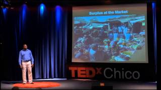 Two oxen and a plow to end hunger: Alfred Koala at TEDxChico