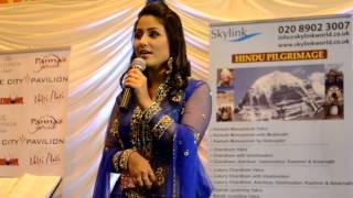 akshara ( hina khan) singing in London
