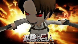 Noob Gets Angry In Attack On Titan Tribute Game