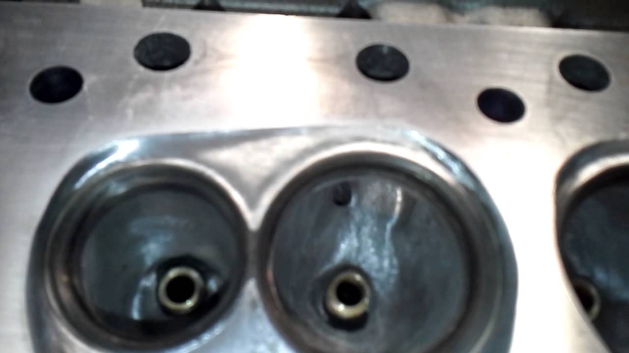 Chamber Polishing Edelbrock RPM heads