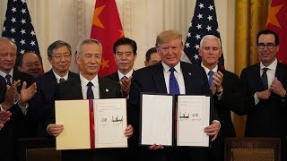 China and U.S. signed phase one trade deal