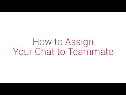 Prism Dashboard Tutorial: How to Assign Your Chat to Teammate