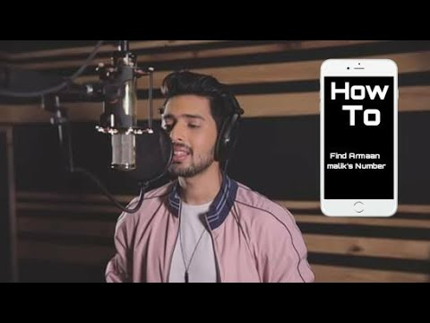 How to find Armaan Maliks Mobile number, Phone Number