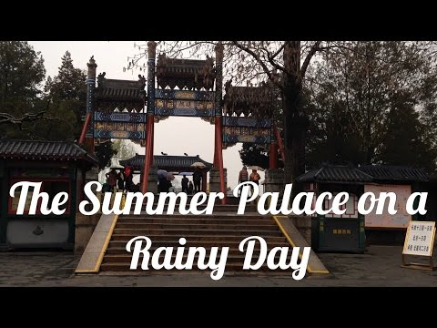 The Summer Palace on a Rainy Day