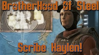 Fallout 4 Brotherhood Of Steel 3 - Scribe Haylen